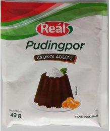 Reál pudingpor 49g csokoládé