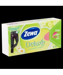 Zewa Deluxe papír zsebkendõ 3 rétegû 90db kamilla