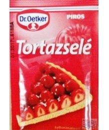 Dr. Oetker tortazselé 12g piros
