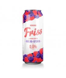 Borsodi Friss 0% Málna-áfonya alkoholment.dob.sör 0,5l