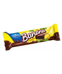 Choco Banana 20g Étcsokiba mártott banán ízû szelet