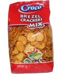 Croco kréker 250g mix
