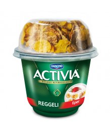 Danone Activi reggeli joghurt 168g epres