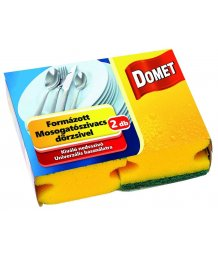 Domet formázott mosogatószivacs dörzsivel 2db