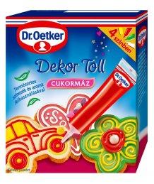 Dr. Oetker 4 színû dekor toll