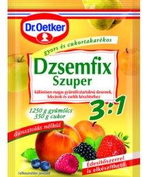Dr. Oetker dzsemfix 3:1 3*25g super