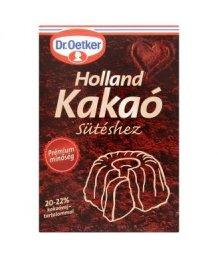 Dr. Oetker Holland kakaópor sütéshez 20-22% 70g