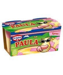 Dr. Oetker Paula vaníliaízû puding epres foltokkal 2 x 100 g