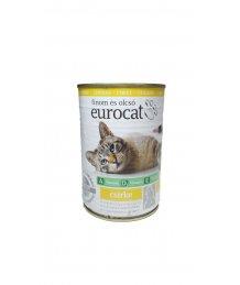 Eurocat macska konzerv 415g csirke